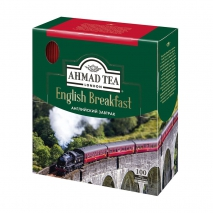 Чай черный Ahmad Tea English Breakfast 100 пак