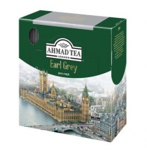 Чай черный Ahmad Tea Earl Grey (с бергамотом) 100 пак